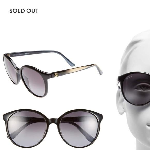 be79d889c Gucci Accessories | 56mm Retro Sunglasses | Poshmark